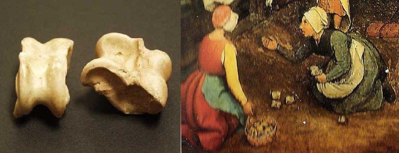 irish archaeology on twitter the knucklebones bones from the