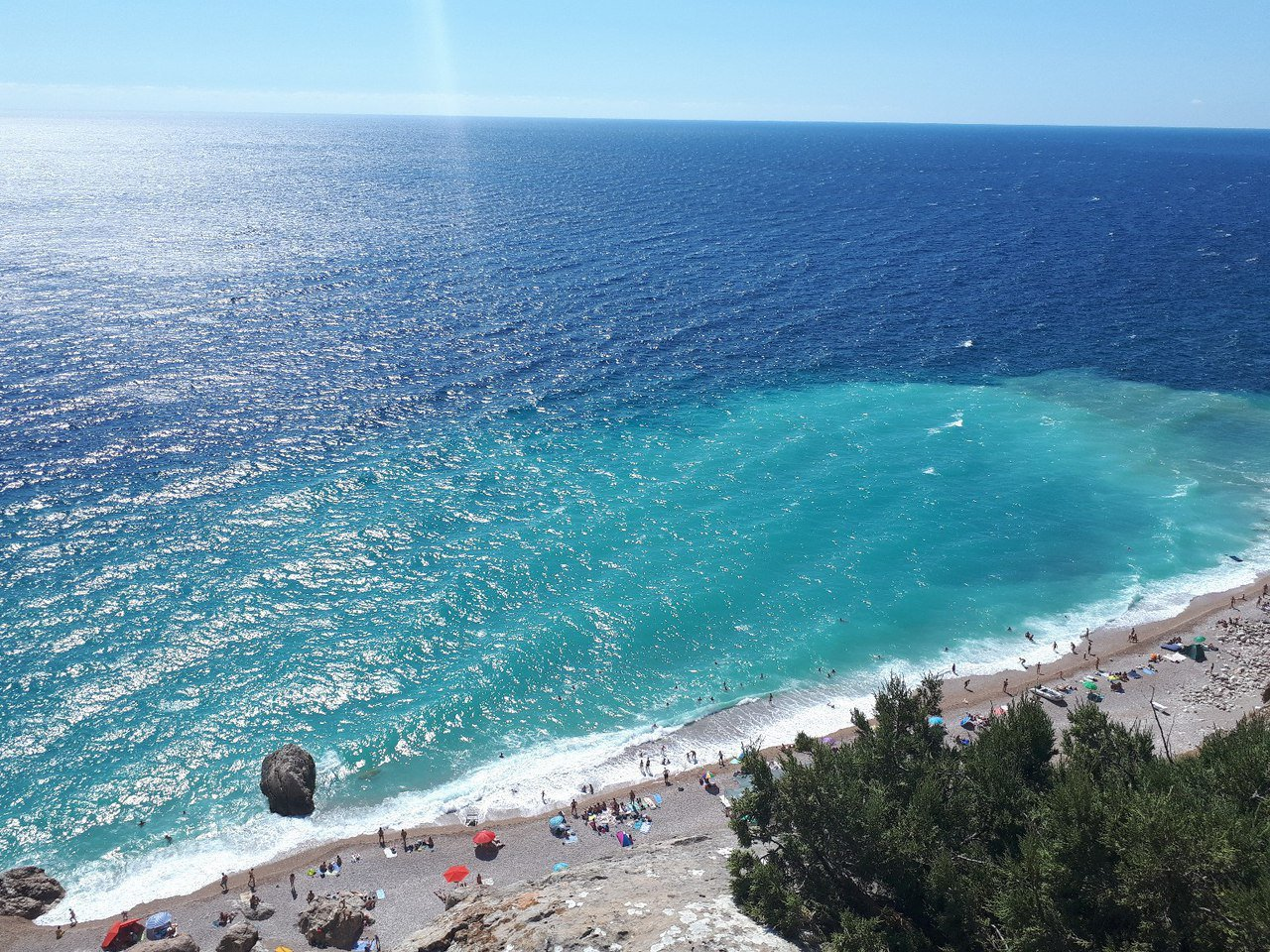 картинки моря и пляжа крым сметану