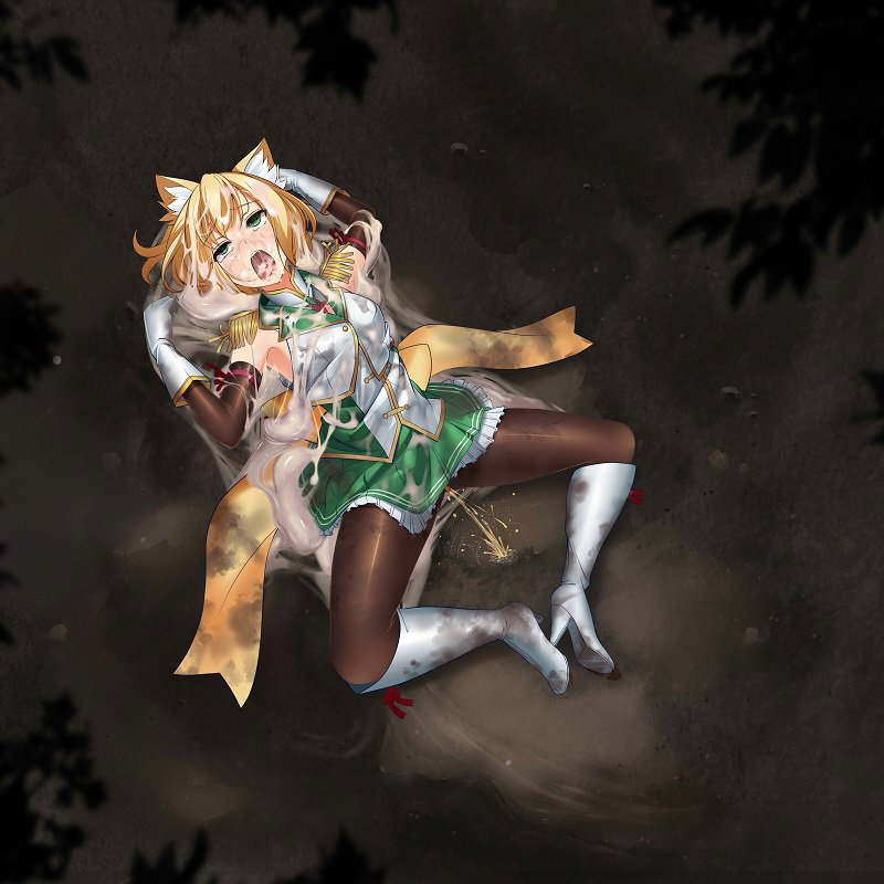 どろどろにされちゃう魔法少女カノンさん。
