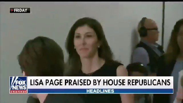 Former FBI lawyer Lisa Page grilled by Republicans in a closed-door meeting https://t.co/AAvTKXk0zm