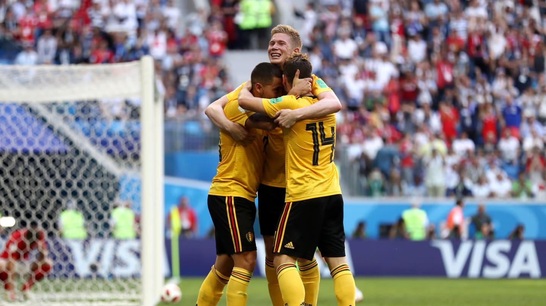 أهداف مباراة بلجيكا وإنجلترا