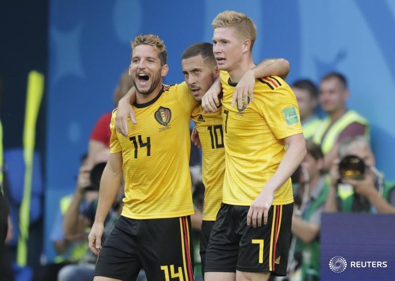 JUST IN: Belgium beat England 2-0 in #WorldCup third-place play-off #BELENG