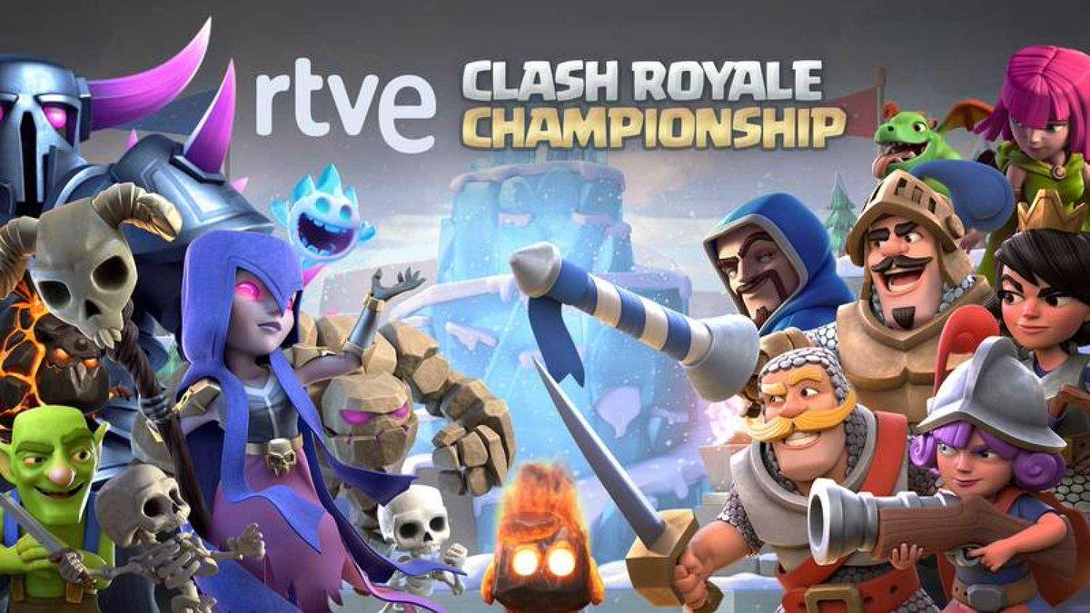Clash Royale Championship, un campeonato nunca antes visto, de la mano de @rtve #ClashRoyale @ClashRoyaleES   https://t.co/WZ2Wt6cpkO https://t.co/ixxQ6s68Ke