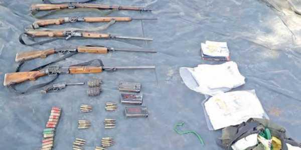 Meghalaya: Huge cache of arms, ammunition hidden by GNLA militants seized https://t.co/iOJHQvgTLN https://t.co/BTA91cyK0w