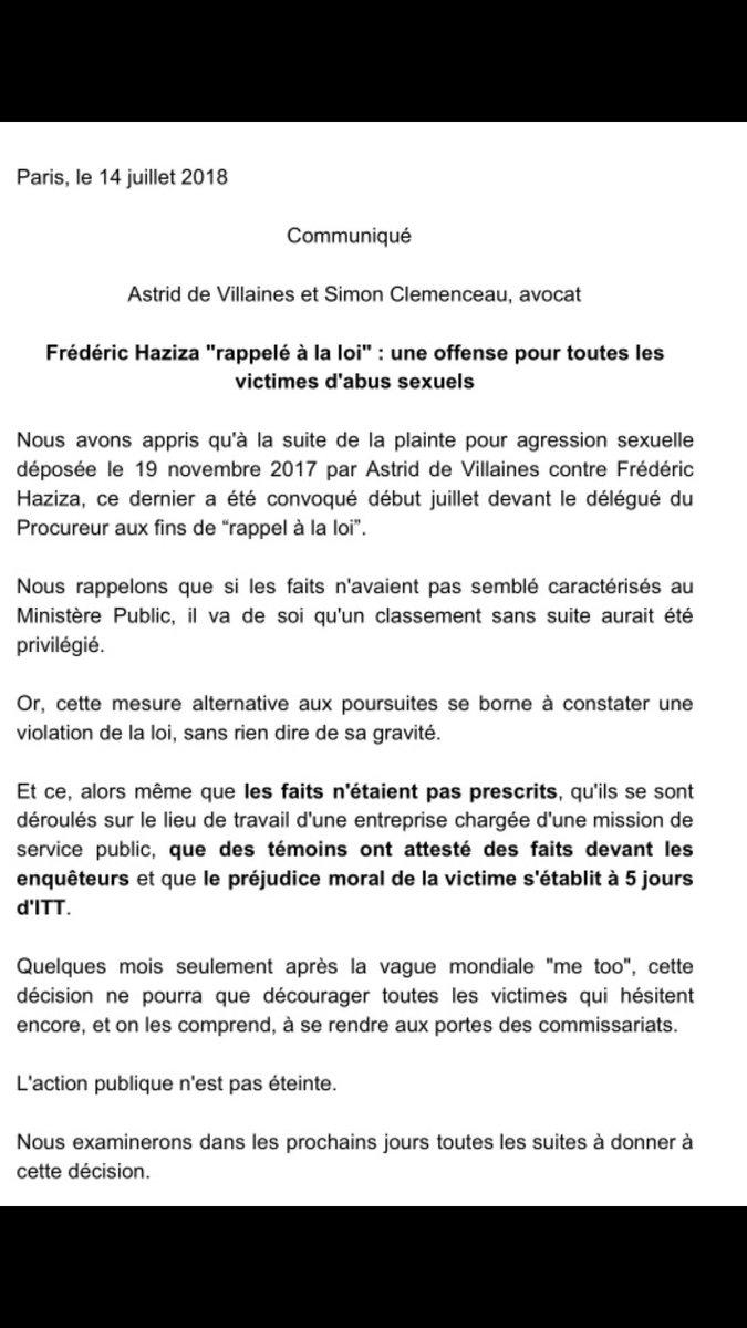 Astrid De Villaines On Twitter Frederic Haziza Rappele A La Loi
