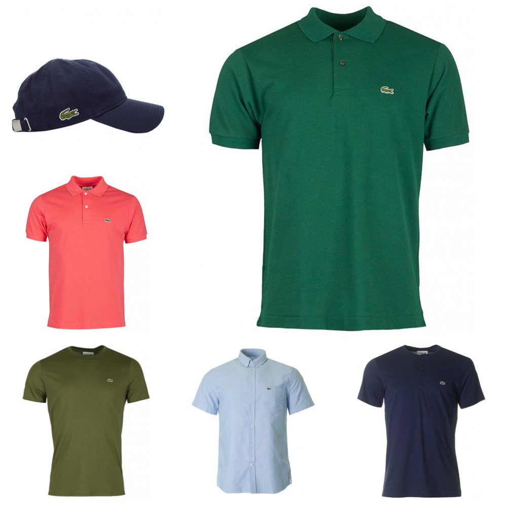 5ddd89c1 Further reductions applied to Lacoste pieces over @ https://bit.ly/2JmoDlb  includes Tees, Polos, Shirts, Caps and more, all reduced.. Shop here: ...