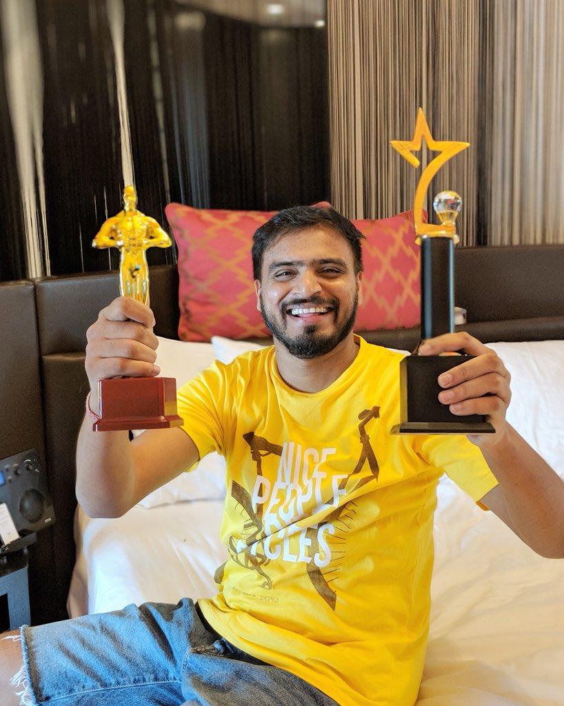 "Amit Bhadana on Twitter: ""I have won 2 awards this month ..."
