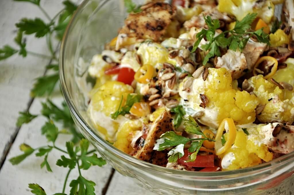 салат из цветной капусты рецепт с фото ступино