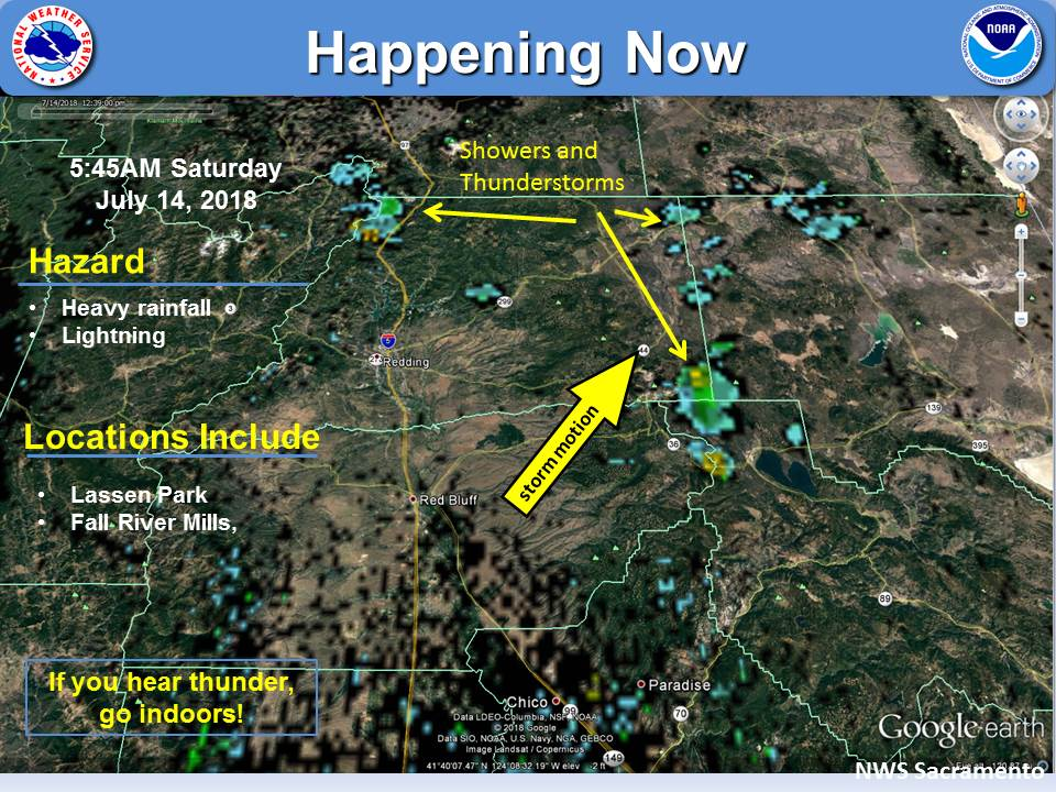 Nws Sacramento On Twitter Isolated Showers And Thunderstorms Are