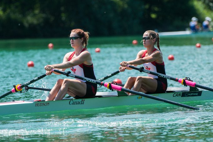 ✌️🇨🇦LW2x boats locked 🔒 up a spot in A Final! 🤯🔥#WRCLucerne #truenorthstrong Photo