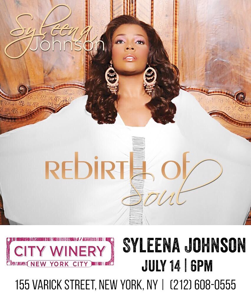 Tonight, NYC! The Rebirth of Soul Tour is touching down in your city at @CityWineryNYC Tix still available! ❤️