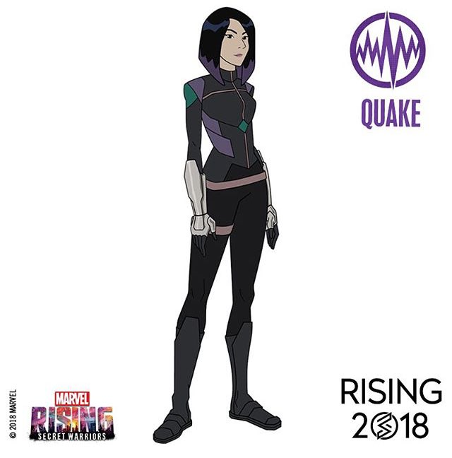 Daisy Johnson/Quake (Chloe Bennet) - Marvel Rising: Initiation
