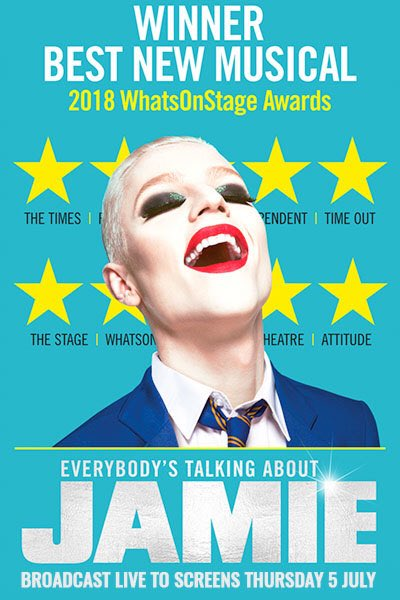 Saw EVERYBODYS TALKING ABOUT JAMIE in the west end last night- wow! It was soooo good. Laughed and cried. Brilliant message. @JamieMusical