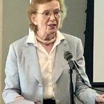 Image for the Tweet beginning: Mary Robinson, former Prime Minister