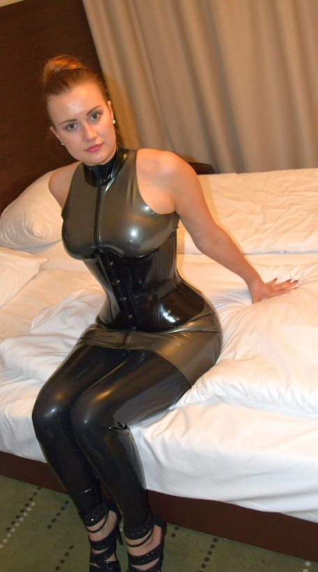 Really. amateur latex sex