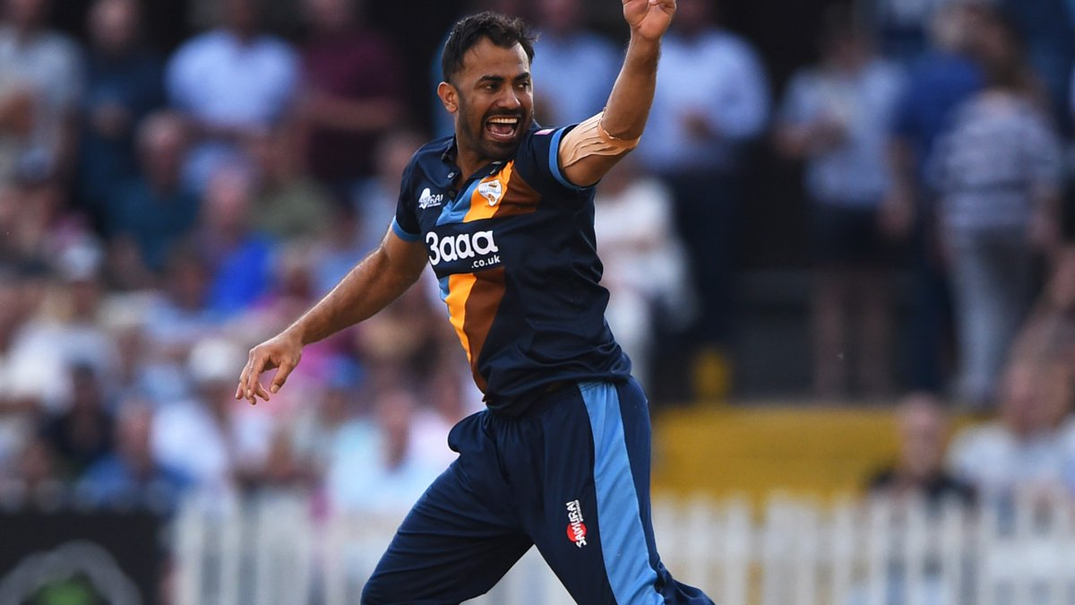 Derbyshire lose to Lancashire in T20 Blast despite impressive bowling spell by Wahab Riaz
