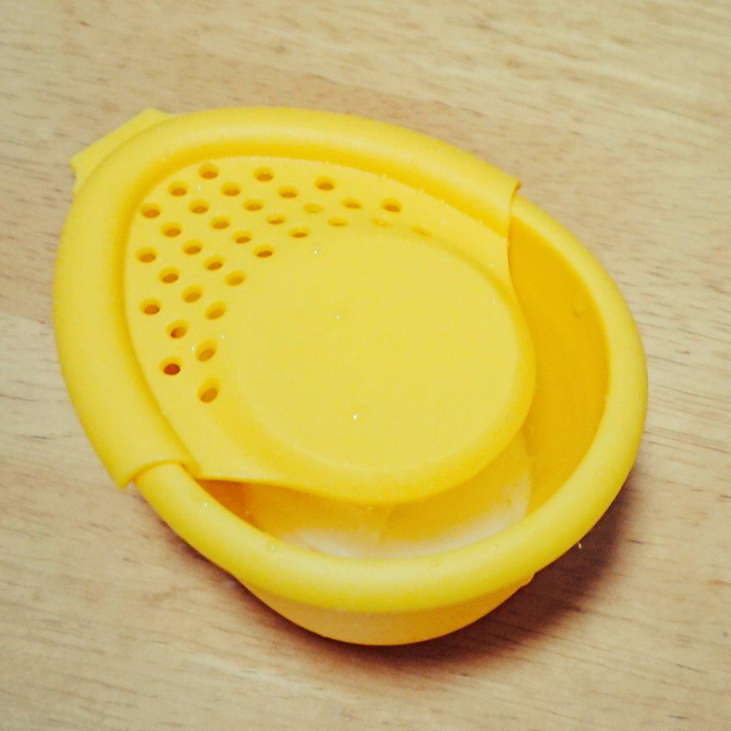 test ツイッターメディア - 快適な卵かけライフをおくるために 新兵器を投入。  ……大成功です??? #卵かけご飯 #TKG #ダイソー https://t.co/JYIxAVadsi
