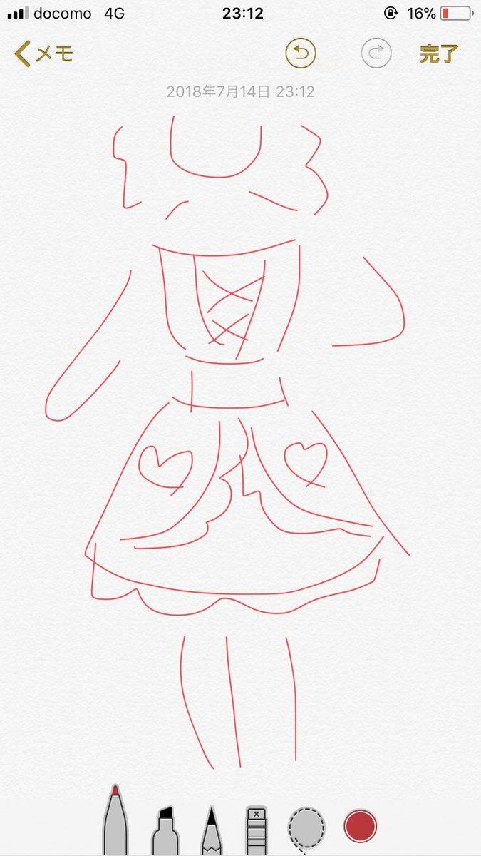 トークイベントにて解禁されたひめゆめユニットドレスを書きました(ハ?)