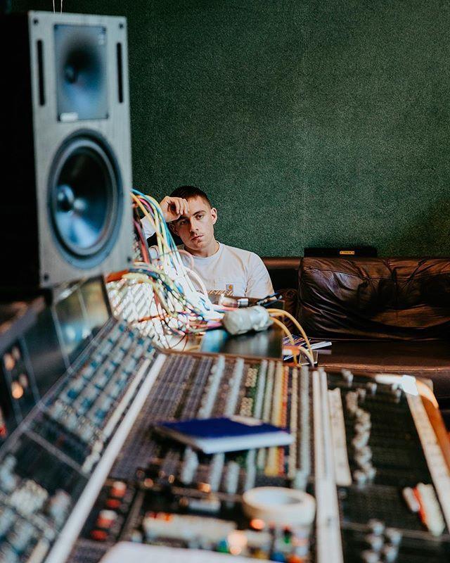 Dernald in the studio a couple of weeks back ift.tt/2mkzByy