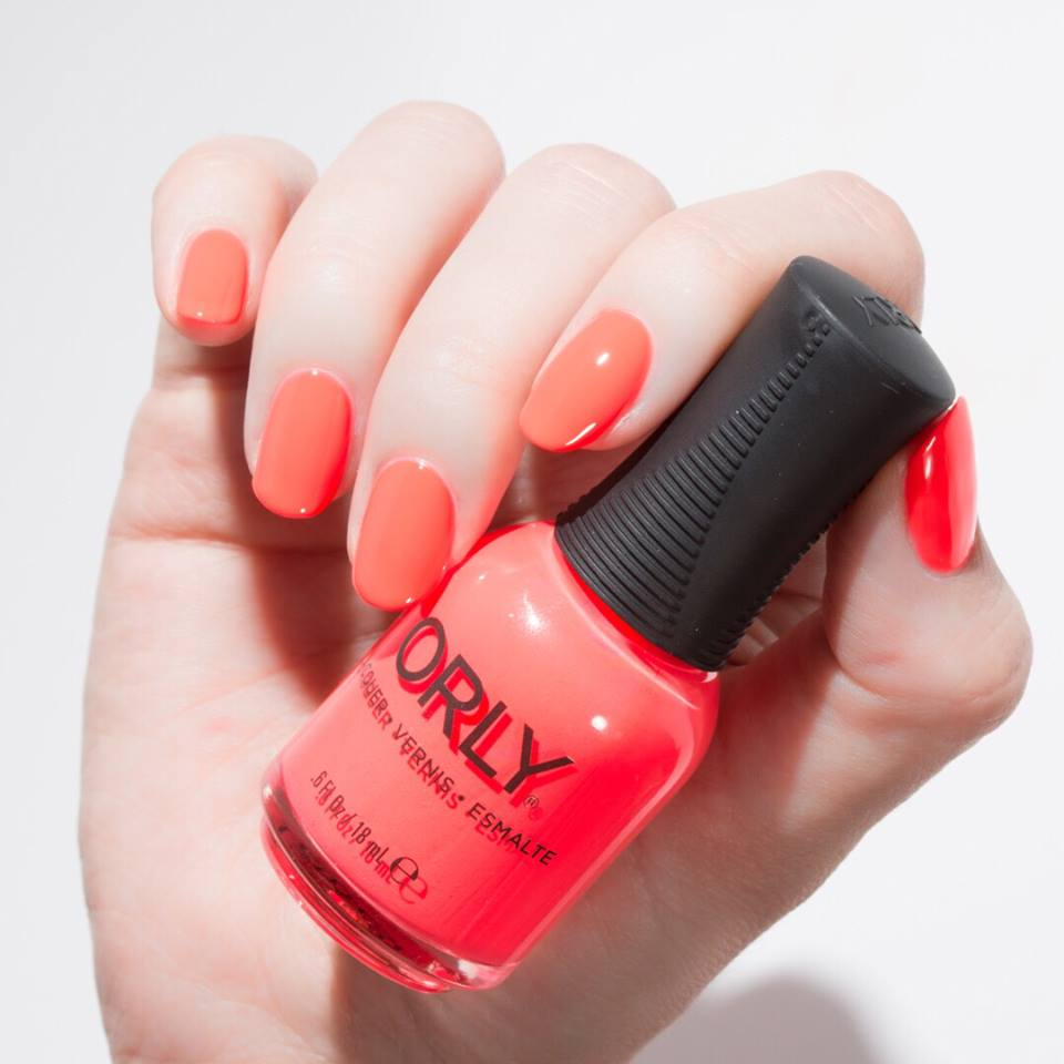 Orly Beauty Uk On Twitter This Fire Mani From