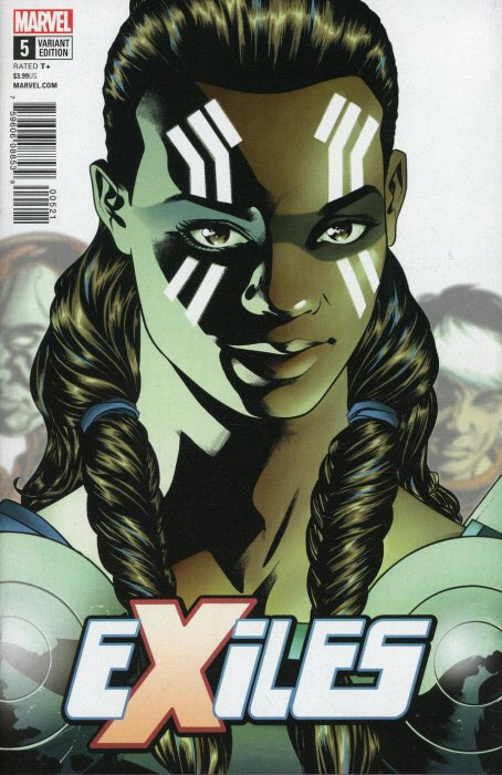 Mike McKones variant for this weeks EXILES #5!🔥👀