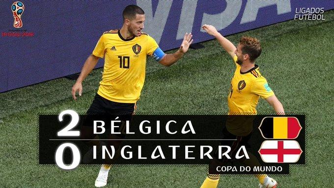 Resultado de imagem para FINAL BÉLGICA 2XO INGLATERRA