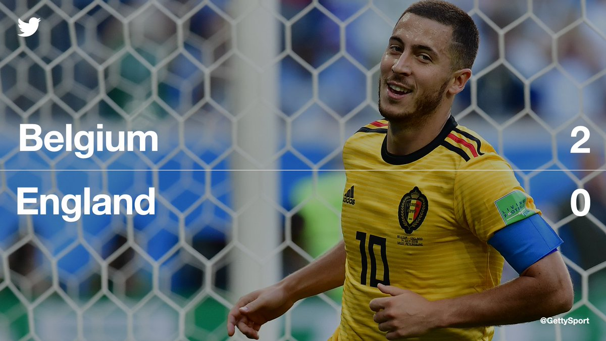 Belgium claim 3rd place! 🇧🇪  #BEL defeats #ENG for the 2nd time to win the 3rd place play-off #WorldCup