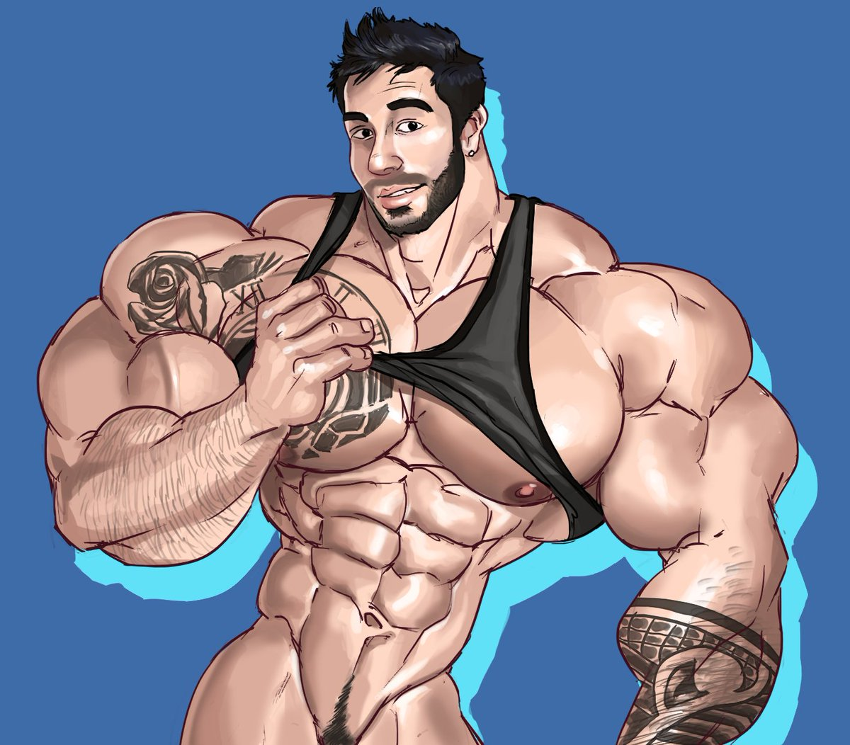 Italian muscle men with big cocks