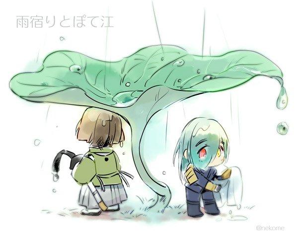ぽえぽ〜〜  #今まで描いた中でも厳選カワイイぽて江を晒してください
