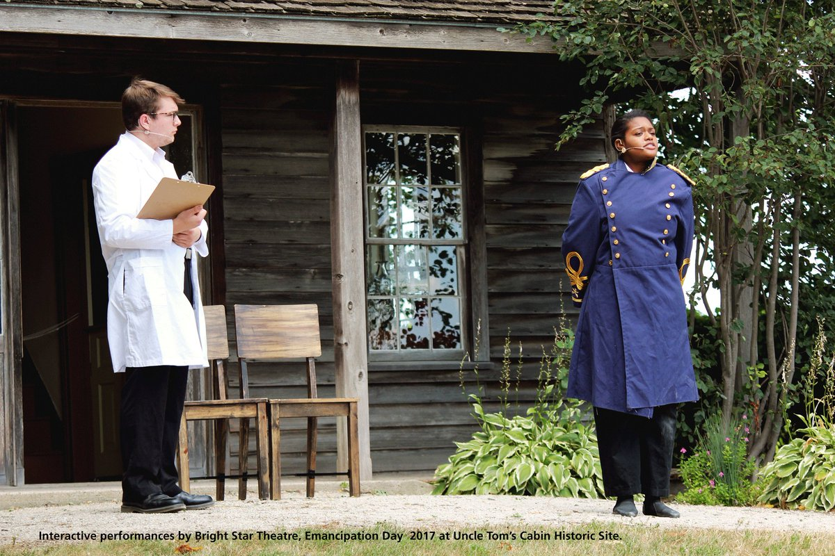 Save the date! Celebrate #EmancipationDay at Uncle Tom&#39;s Cabin Historic Site on August 4 in #Dresden #Ontario. @MunicCK   Stay tuned for more details:  http:// ow.ly/j1i930kWSqh  &nbsp;  <br>http://pic.twitter.com/GSwqpuLaJ4