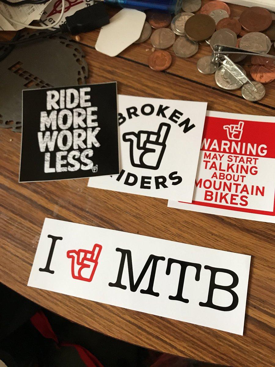 New sticky bits from @brokenriders #celebratethefail