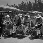 Image for the Tweet beginning: July 14, 1934: The @FarmersMarketLA