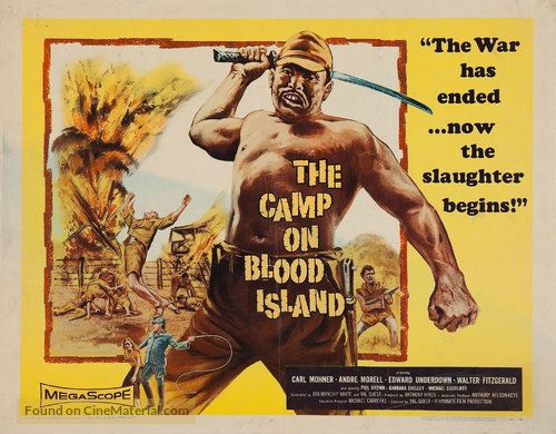 """Talking Pictures TV on Twitter: """"21:00 THE CAMP ON BLOOD ISLAND ..."""