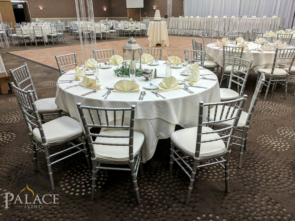 Palace Events On Twitter Silver Chiavari Chairs For Wedding