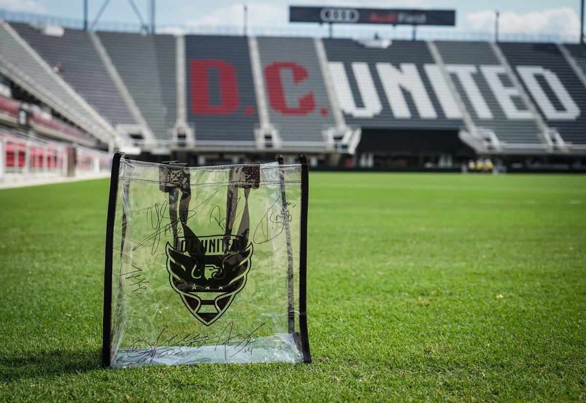8d0158478d A CLEAR BAG POLICY is in effect tonight and for all  AudiField matches.  Want a free