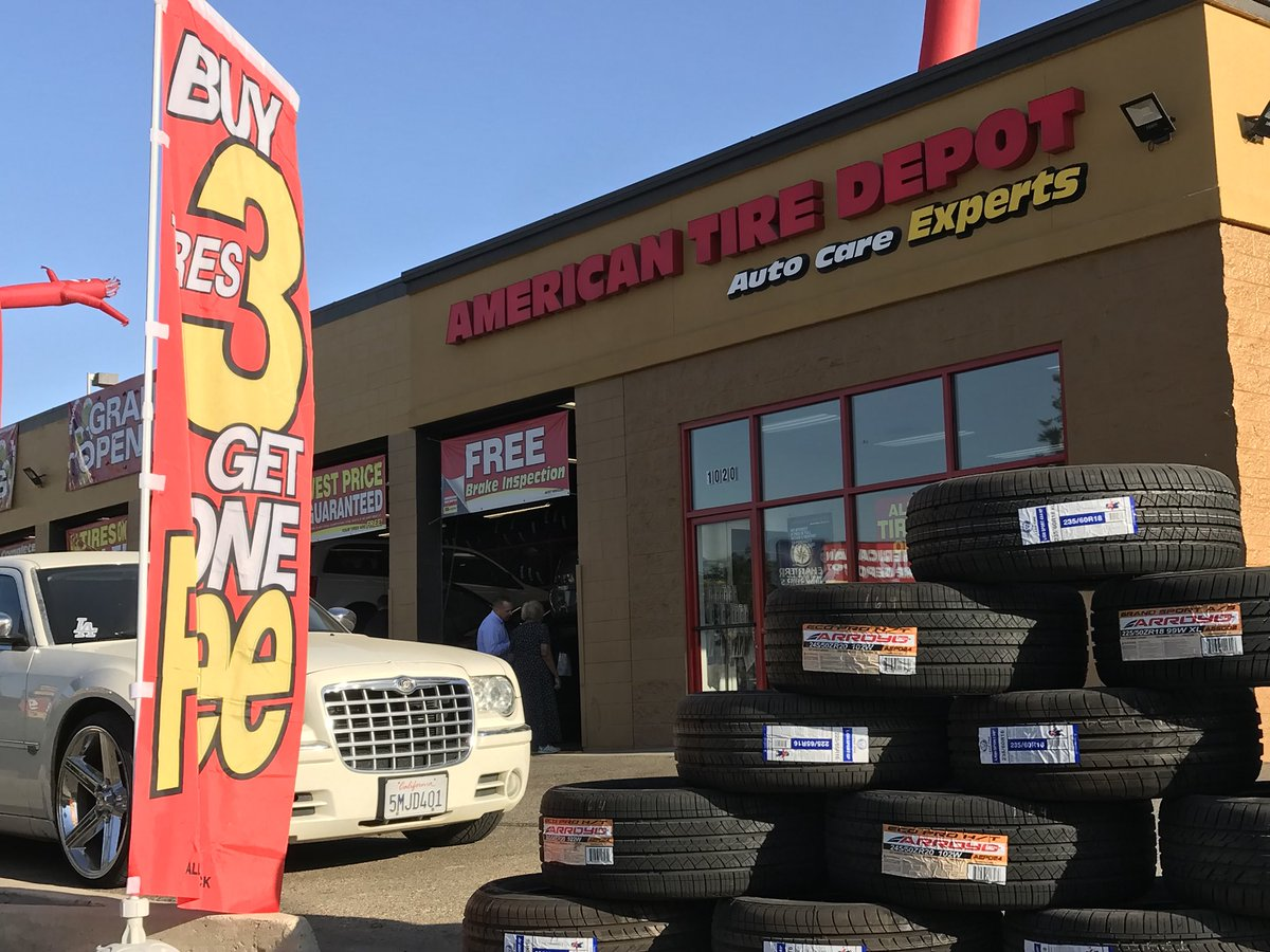 American Tire And Auto >> American Tire Depot On Twitter Day 2 Of The Grand Opening