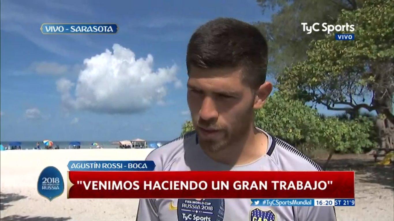 Rossi en @TyCSports: 'Siempre van a sonar nombres de arqueros, pero uno tiene que seguir enfocado en Boca' https://t.co/2rdmEk2osq