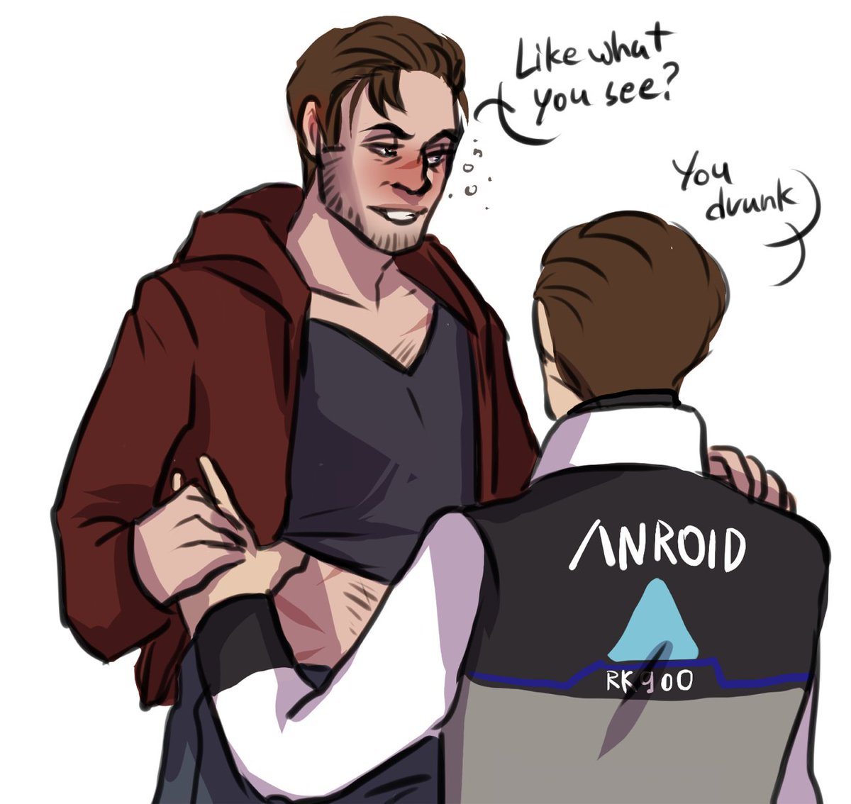 drunk gavin seducing robocop is here #Reed900 #900Gavin<br>http://pic.twitter.com/R4dZQNbFuF