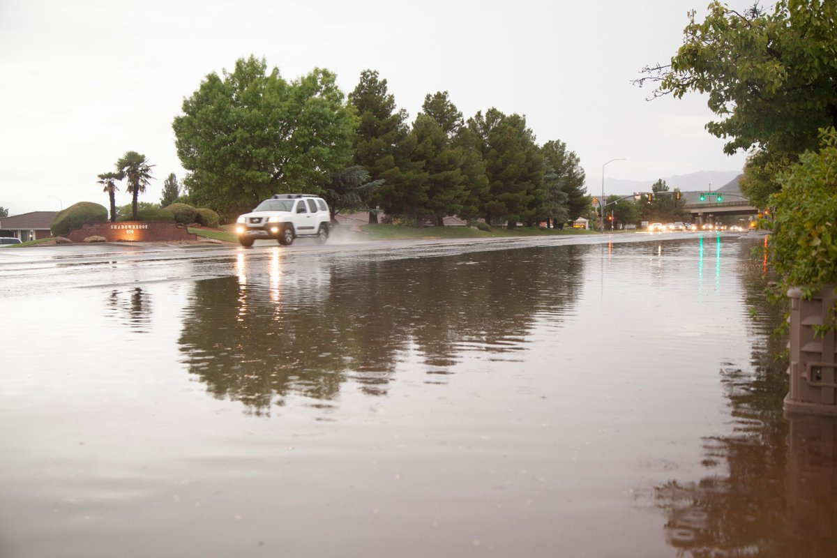It's been a rainy few days! Share your photos and videos: @SpectrumNews or community@thespectrum.com. Please include your name, location and date so we can credit you. #utwx #SouthernUtah #staysafe  Photo: Chris Caldwell/The Spectrum & Daily News