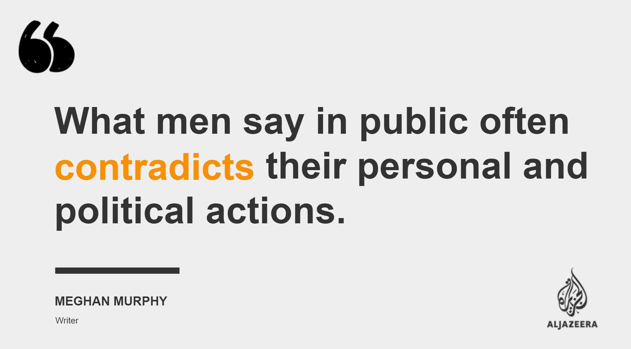 Al Jazeera English On Twitter The Problem With Male Feminists