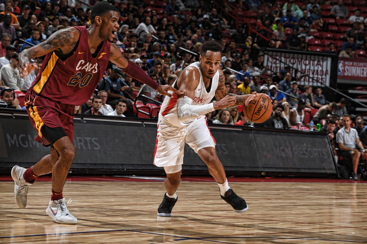 Final from Vegas: Cavs 92 l #Rockets 87 The squad ends @NBASummerLeague play with a 4-1 record. 🚀
