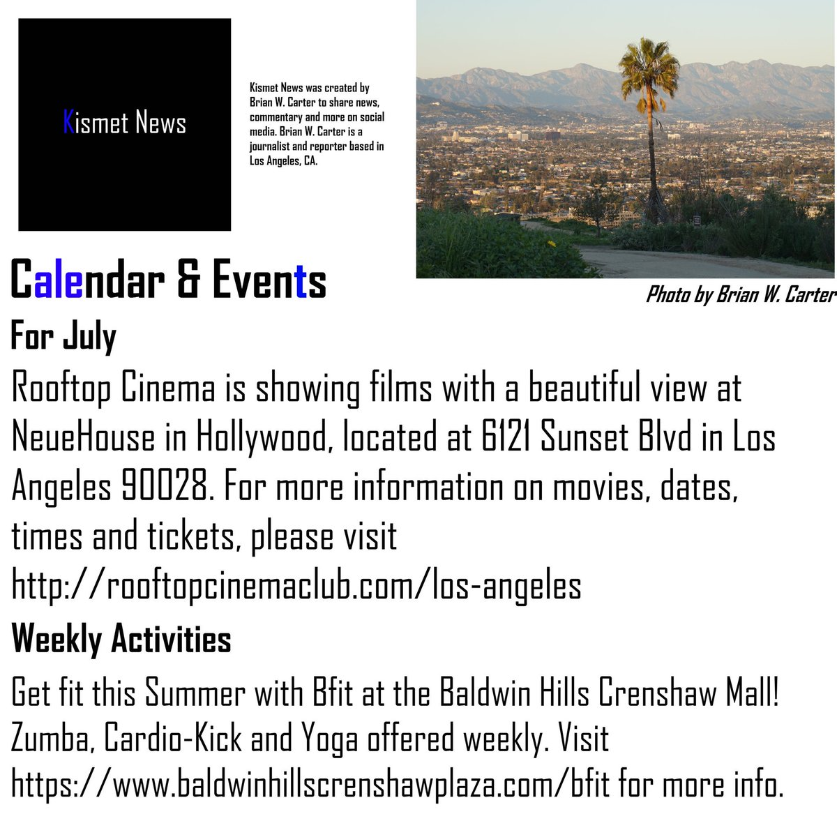 Weekly Calendar Los Angeles : Los angeles event calendar the best things to do this month