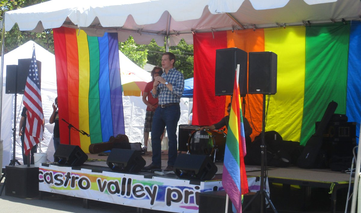 Thank you for supporting @CVPrideLGBT this afternoon, @RepSwalwell, and representing us; ALL of us! A friend of mine wrote, I love him. We are so lucky to have such a strong, caring, well spoken, intelligent rep! I agree 100%! Thank you for all that you do for us!