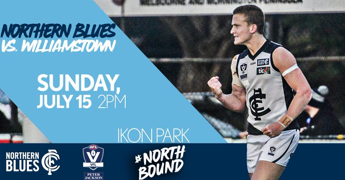 Game day! Ready to return to action at Ikon Park - up the Northern. #Northbound #PJVFL Photo