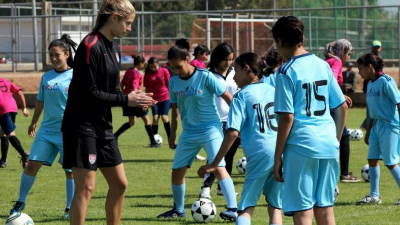 As the world prepares for the #WorldCupFinal, find out how @ECAatState brings people together and builds partnerships through #SportsDiplomacy. https://t.co/hAKd3c6cRr