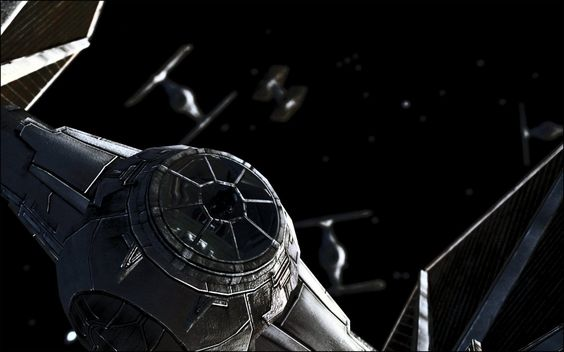 Rebel pilot or Imperial? #StarWars #SciFi #Art Up close and nose to nose #TIE every time #NoShields