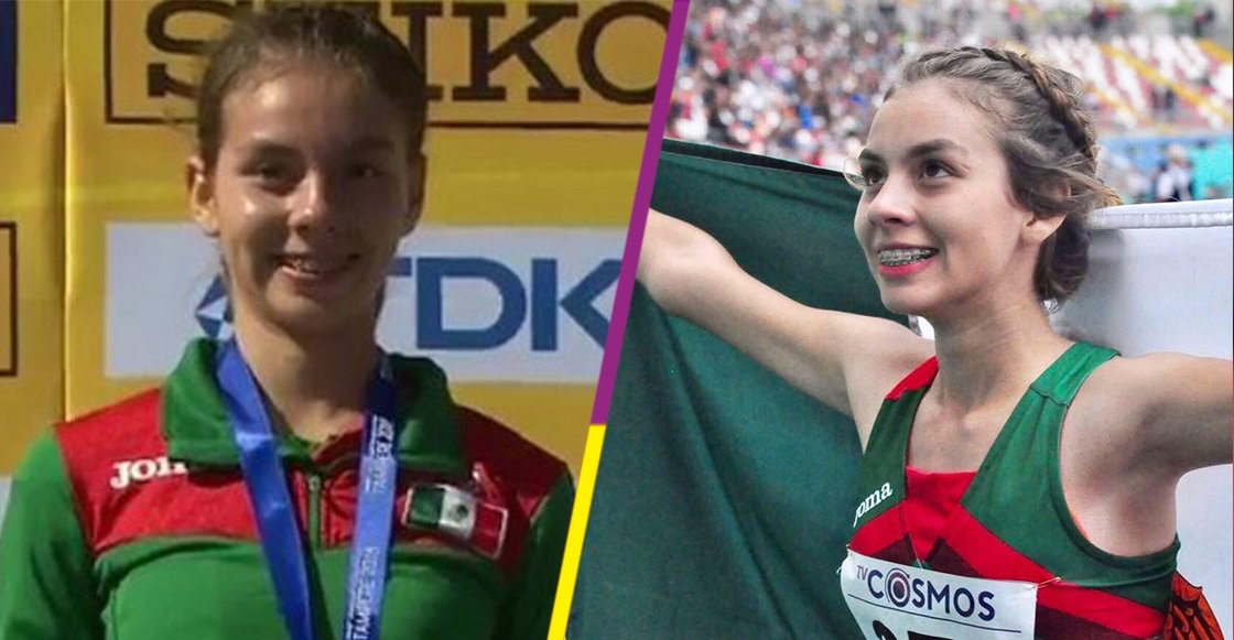 ¡Orgullo! ¡Alegna González (@alegnam_2) se cuelga el Oro en el Mundial de Atletismo Sub-20! 🎉🎊 https://t.co/eDAkorAR4l