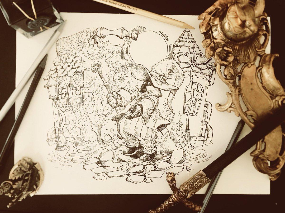 原稿の片付けしてたら昔描いたFFⅨのファンアートが出てきました。いつ描いたのかもう思い出せない。日付は入れておくべきですね…