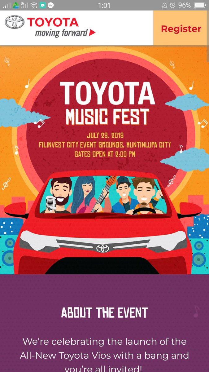 Toyota anu naaa?! WALA NA FINISH NAAAAAAAAA😢😂 #ToyotaMusicFest