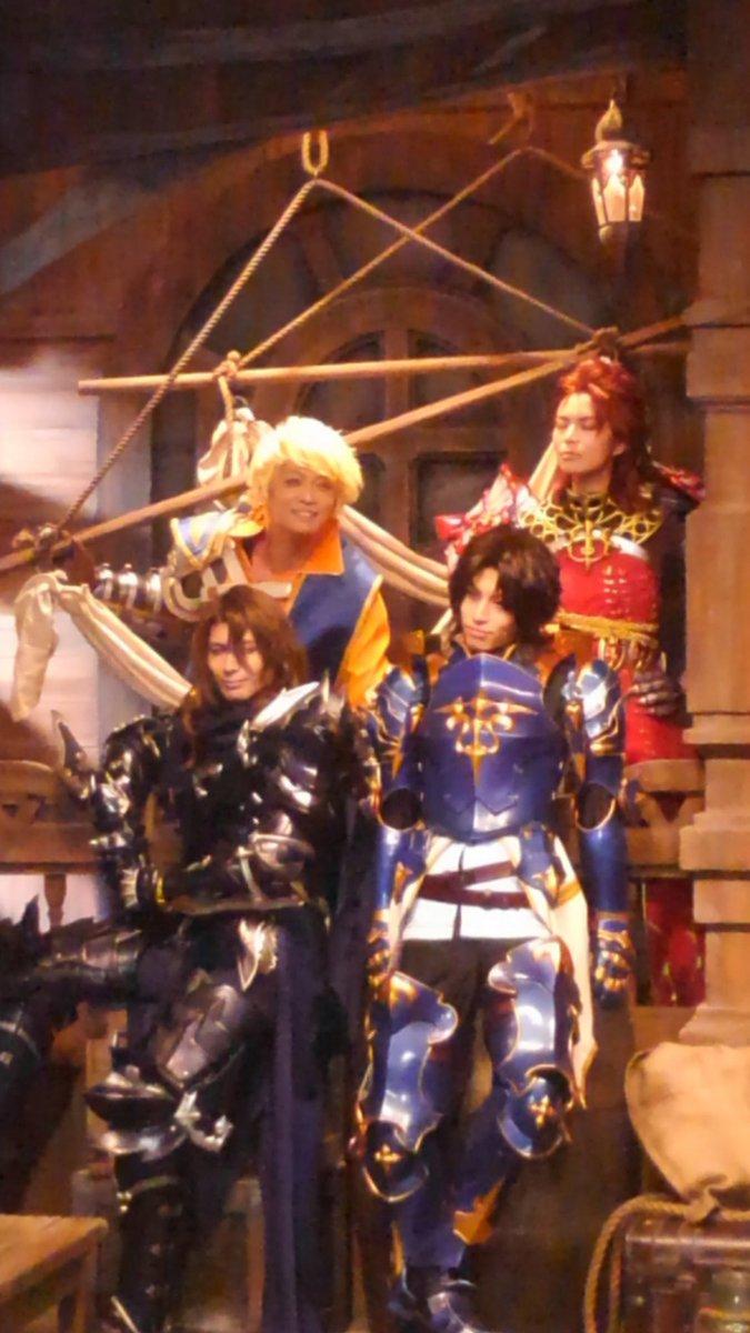 四騎士が…四騎士が!! 素敵過ぎて語彙力なくすぅ!! #グラブルサマーフェス